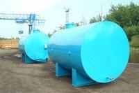 Capacities metal, tank of fuel, barrel of fuels