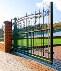 Гаражные секционные ворота от Фасад Пласт серии