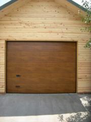 Ворота гаражные секционные автоматические ALUTECH