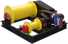 Лебедка электрическая тяговая ТЛ-15 и маневровая