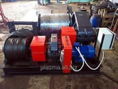 Electric winch shunting LEM-10 two-drum