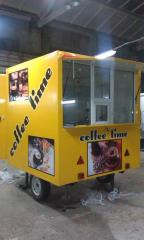 Coffee house on wheels