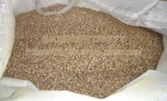 Древесные гранулы пеллеты из сосны