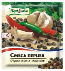 "Mix of pepper ""Ukrainian with Garlic"