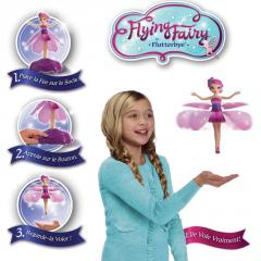 The flying Fairy. Charming magicians. Novelty of