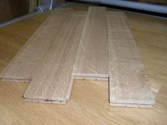Parquet from an oak wholesale 22х50-60х250-400мм