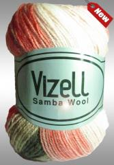 Yarn the mixed Samba Wool