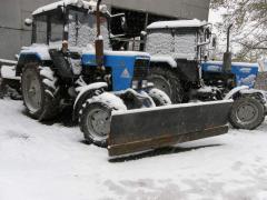 Снегоуборочная техника: услуги, аренда, работа,