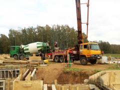 Čerpadlo na beton