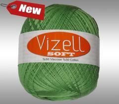 Пряжа для вязания Vizell Soft