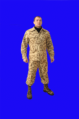 The clothes are protective, working, military