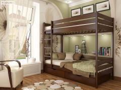 Кровать Дуэт, купить двухъярусную кровать,