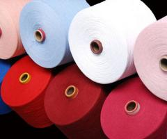 Spun cotton of 100% Open End Yarn cotton