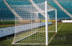 Folding football goal