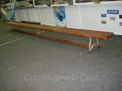 Bench of gymnastic 4 m