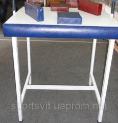 Table for an armwrestling not of folding
