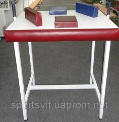 Table for an armwrestling of folding