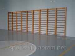 The Swedish wall, sport stock for schools and