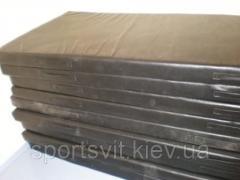 Mat gymnastic 1,0х1,0х0,1 black