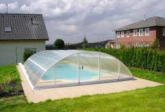 Павильоны для бассейнов фирмы Альбион Групп