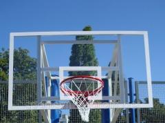 Basketball backboard of 1800х1050 mm, from