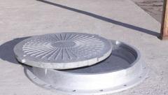 Люки канализационные,Глубина посадки крышки – 20