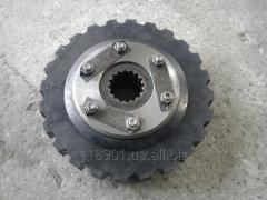 Rubber element of a damper with a nave of D-260,