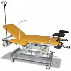 Gynecologic viewing table of Lojer Afia 4050