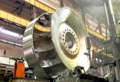Water-wheels of radial-axial type