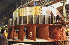 Built-in cylindrical locks
