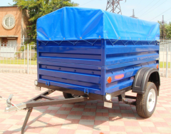 The trailer to KRKZ-100 cars, height of a board is