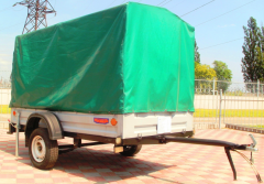 The utility trailer KRKZ-230 for the car, for
