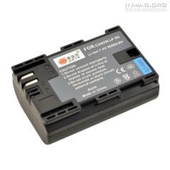 Аккумуляторная батарея для Canon LP-E6.