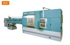 Mnogoshpindelny automatic machine for difficult