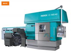 The Mnogoshpindelny automatic machine with open