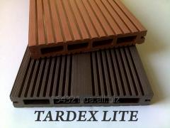 Terrace board of Tardex Lite (hollow)