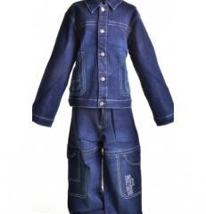 Костюм джинсовый детский KD-2001Артикул: KD-2001