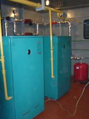 Котлы блочно-модульные водогрейные и паровые
