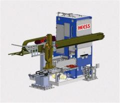 Hardening press of the HP series