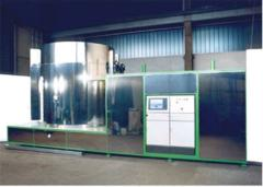 Mono installation for PulsPlasma® of nitriding and