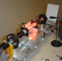Газовый лазер ЛГН-207Б гелий-неон ( He-Ne ) длина