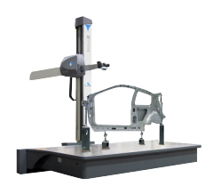 Car coordinate and measuring rack-mount DEA BRAVO
