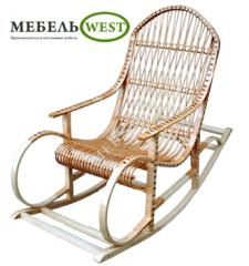 Furniture from a rod, the Rocking-chair Beechen
