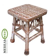 Wattled chairs for kitchen, the Stool from a rod