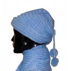 Комплект шапка + шарф HHG-0412