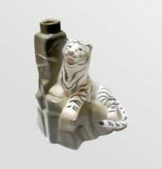 Сувенирная бутылка  Тигр 1-1 керамическая, купить,