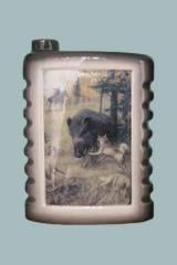 The flask souvenir gift Hunting of 0,5 l to buy,