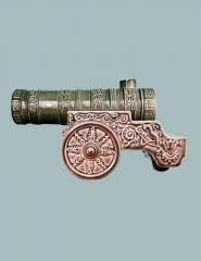 The bottle the souvenir Tsar Cannon of 0,25 l of