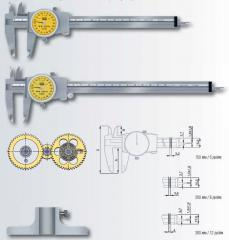 Calipers with arrow counting of the TESA CCMA-M