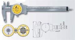 Caliper with arrow counting the ETALON 125 Model